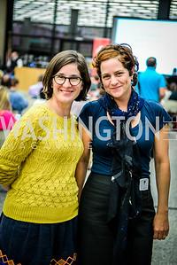 Meaghan O'Connor, Christine Prefontaine, DC Tech Meetup, Digital DC Tech Fund Edition, MLK Library, 10-6, 2014, Ben Droz, bendroz.com