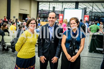 Meaghan O'Connor, Christine Prefontaine, Richard Reyes-Gavilan, DC Tech Meetup, Digital DC Tech Fund Edition, MLK Library, 10-6, 2014, Ben Droz, bendroz.com