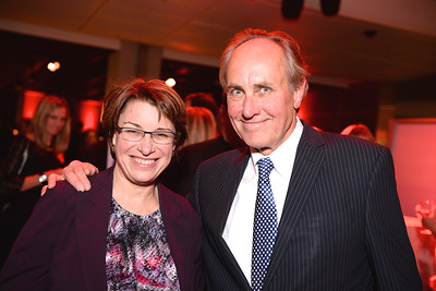 Senator Amy Klobuchar, Chris Isham, Face The Nation, 60th Anniversary, Newseum, November 17, 2014, Photo by Ben Droz.