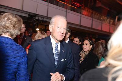 Vice President Joe Biden, Face The Nation, 60th Anniversary, Newseum, November 17, 2014, Photo by Ben Droz.