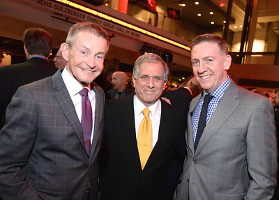 Bill Plante, Leslie Moonves, Bill Owens, Face The Nation, 60th Anniversary, Newseum, November 17, 2014, Photo by Ben Droz.