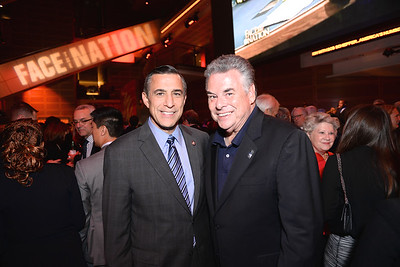 Congressman Darrell Issa, Congressman Peter King, Face The Nation, 60th Anniversary, Newseum, November 17, 2014, Photo by Ben Droz.