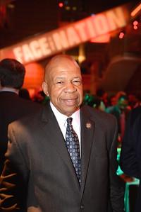Congressman Elijah Cummings, Face The Nation, 60th Anniversary, Newseum, November 17, 2014, Photo by Ben Droz.