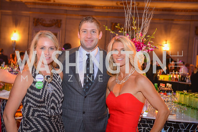Jojo Spallone, Chris Cooley, Amanda Marshall, Fair Chance, Butterfly Bash, Andrew Mellon Auditorium, November 7, 2014, Photo by Ben Droz