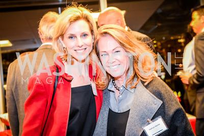 Katherine Bradley, Kathryn Hanley, Teach for America Reception, 10-7-2014, Photo by Ben Droz