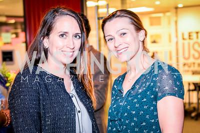Kimberly Diaz, Julia Keleher, Teach for America Reception, 10-7-2014, Photo by Ben Droz