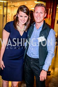 Allison Cramton, Stan Voudrie, Teach for America Reception, 10-7-2014, Photo by Ben Droz