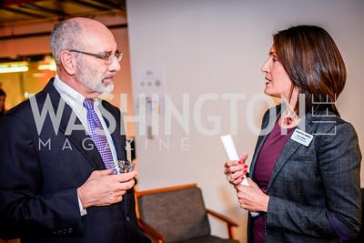 David Holzworth, Ileana Rodriguez, Teach for America Reception, 10-7-2014, Photo by Ben Droz
