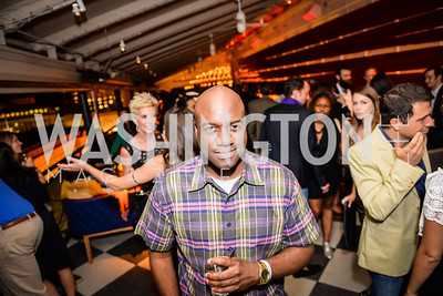 Ian Callender,  Grand Re-Opening of POV Lounge at the W Hotel, Friday September 12, 2014, Photo by Ben Droz.