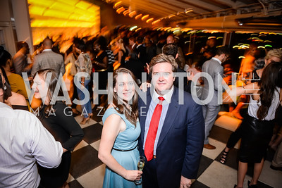 Angela Chiappetta, John McCarthy, Grand Re-Opening of POV Lounge at the W Hotel, Friday September 12, 2014, Photo by Ben Droz.
