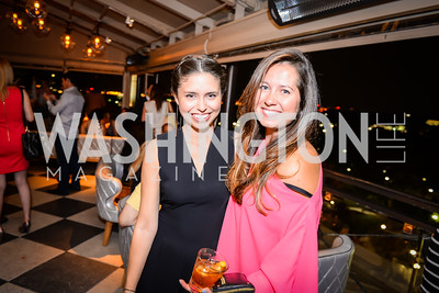 Nicole Aguirre, Alia Shmia, Grand Re-Opening of POV Lounge at the W Hotel, Friday September 12, 2014, Photo by Ben Droz.