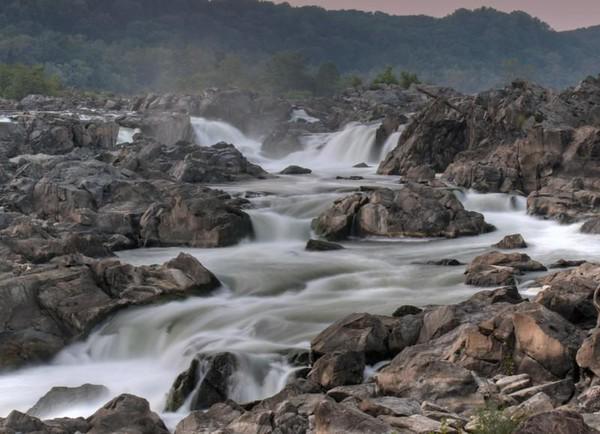 Dusk at Great Falls