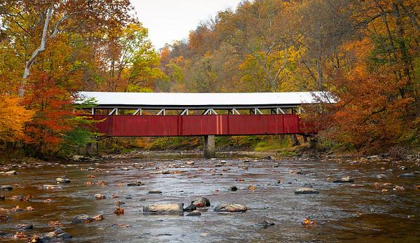 Lower Humbert Covered Bridge, Somerset County, PA