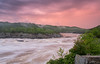 Mather Gorge Stormy Sunset