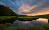 Sunset, Blackwater River, Canaan Valley