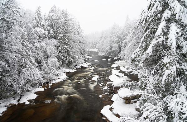 Blackwater River Rapids