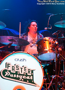 Faster Pussycat performs at the Casino Ballroom in Hampton Beach, NH on July 25, 2014