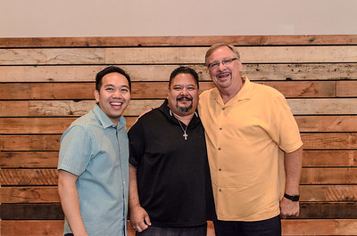Saddleback Irvine South Father's Day weekend - portrait with Pastor Rick - photo by Allen Siu 2016-06-19