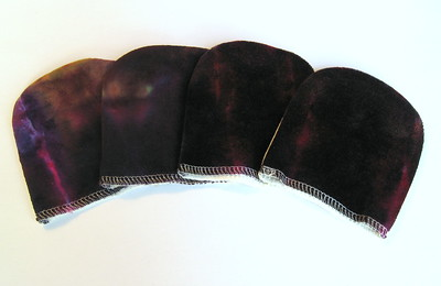Set of FOUR Facial Mitts