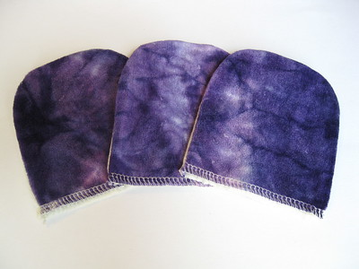 Set of THREE Facial Mitts
