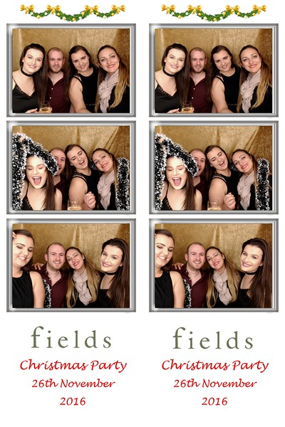 Fields Christmas Party