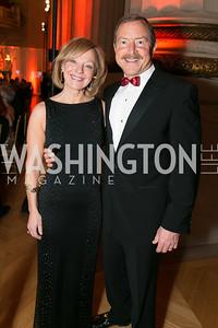 Joyce White, Gary White. Photo by Alfredo Flores. Fifth Annual Nowruz Commission Gala. Andrew W. Mellon Auditorium. March 15, 2014