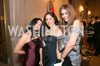 Maryam Shojaei, Golie Miamee, Shakoufeh Khozein. Photo by Alfredo Flores. Fifth Annual Nowruz Commission Gala. Andrew W. Mellon Auditorium. March 15, 2014