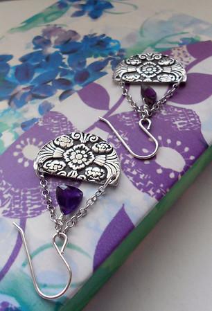 Silver & Bronze Jewelry by Alasha Lantinga