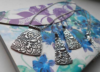 Fine Silver Necklaces & Bracelets  by Alasha Lantinga