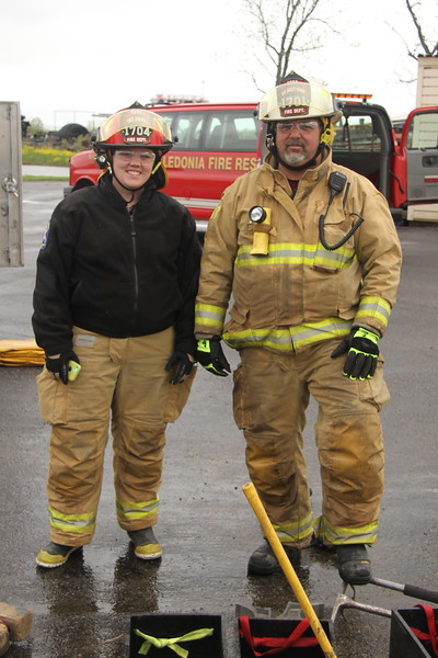 Brittany and Carl Peter - Father and Daughter - York Fire Department - Livingston County, New York