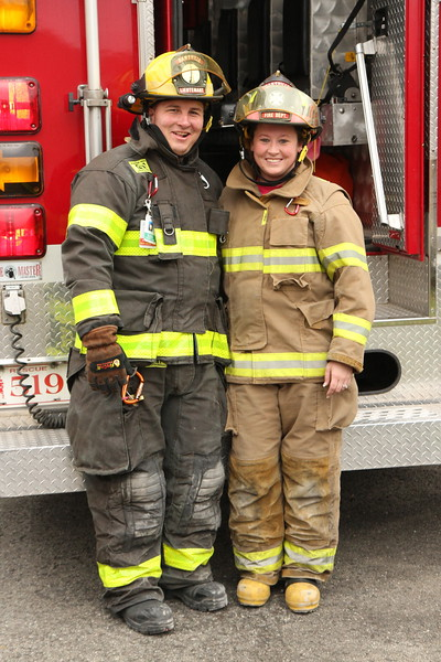 Corey and Alicia Chase - Husband and Wife - Dansville Fire Department - Livingston County, New York