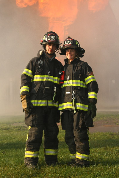 Bryen Murrock and Kelly Kraft - Boyfriend Girlfriend - Pavilion Fire Department - Genesee County, New York