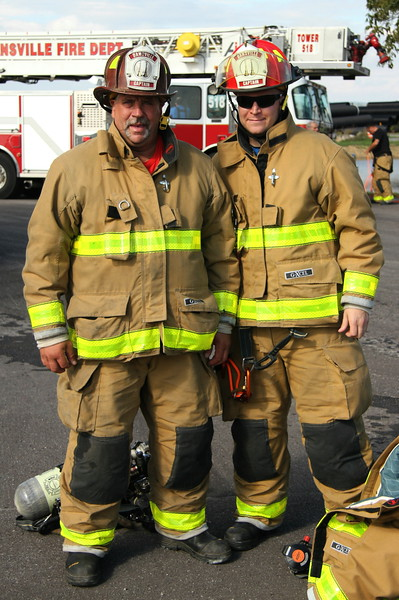 Joe and Matt Snyder - Uncle and Nephew - Dansville Fire Department - Livingston County NY