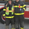 Stan and Mark Lubanski - Father and Son - Leicester Fire Department - Livingston County, New York
