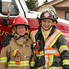 Rachel Halpenny and Debbie Green - Mother and Daughter - Conesus Fire Department - Livingston County, New York