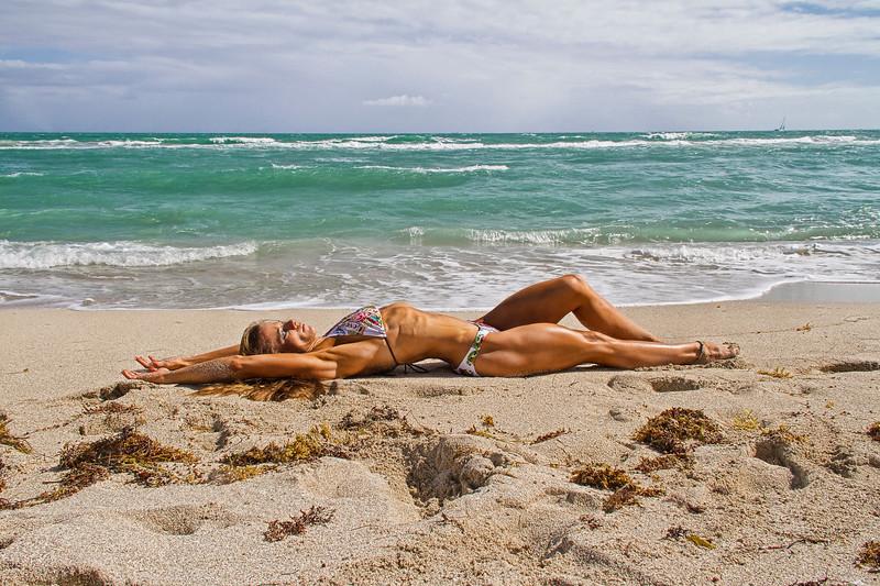 Jeanette Post on Miami Beach