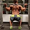 Ryan Baker doing Squats