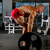 Rob Smith at Health & Strength Gym in Cape Coral; FL Doing Deadlifts