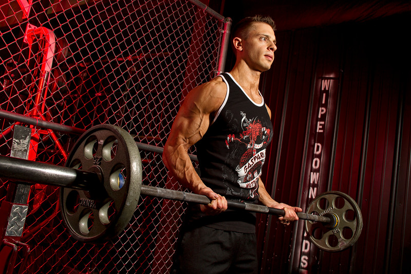 Eric Rosandich, Madtown Fitness; Barbell Curls