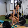 Jessica Senatore doing deadlifts