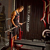 Eric Rosandich, Madtown Fitness; Barbell Curls; getting ready