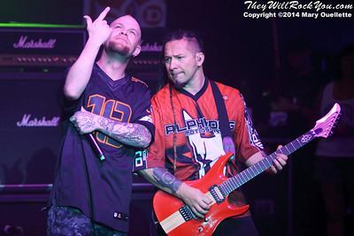Five Finger Death Punch at ShipRocked 2014