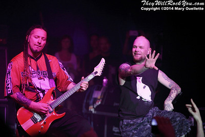 Five Finger Death Punch at ShipRocked 2014