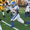 Noxubee County running back Javarcus Walker makes a cut in Tigers' game against the Yellowjackets in Starkville. Photo by Kevin Warren