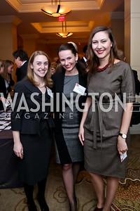 Emily Simon, Ekaterina Zabrovskaya, Olga Ivanova. Photo by Tony Powell. FP Diplomat of the Year Award. Mandarin Oriental. October 29, 2014