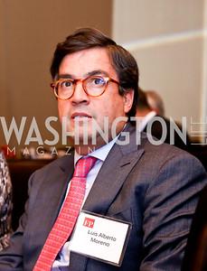 Luis Alberto Moreno. Photo by Tony Powell. FP Diplomat of the Year Award. Mandarin Oriental. October 29, 2014