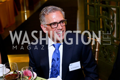 Dr. Fred Ognibene. Photo by Tony Powell. FNIH 2014 Lurie Prize Dinner. National Academy of Sciences. May 20, 2014