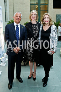 Ken Fulton, Jennifer Doudna, Dame Jillian Sackler. Photo by Tony Powell. FNIH 2014 Lurie Prize Dinner. National Academy of Sciences. May 20, 2014