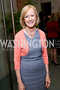 Judy Woodruff. Photo by Tony Powell. FNIH 2014 Lurie Prize Dinner. National Academy of Sciences. May 20, 2014