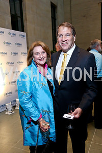 Judy and Peter Kovler. Photo by Tony Powell. FNIH 2014 Lurie Prize Dinner. National Academy of Sciences. May 20, 2014